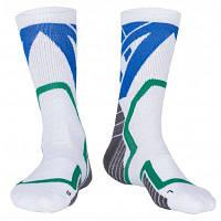 2 пары унисекс спортивные компрессионные носки для бега Белый