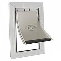 Дверца Staywell для собак гигантских пород усиленной конструкции, 692.6x417 мм