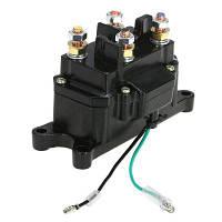 YKT-AB152 12V Электромагнитная реле контакторная лебедка Чёрный