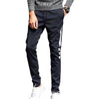 Мужские повседневные брюки Теплые удобные моды утолщены все штаны XL