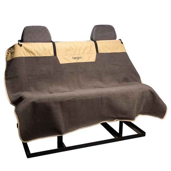 Накидка на сидіння Bergan Microfiber Auto Bench Seat Protector в автомобіль для собак, L
