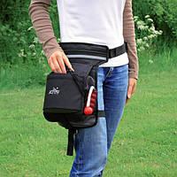 Сумка для лакомств Trixie Hip Bag для дрессировки собак, с поясом, 57-138 см