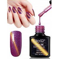 10ML Цвет фиолетового цвета Изменение кошачьего глаза для ухода за ногтями ногтей 01#