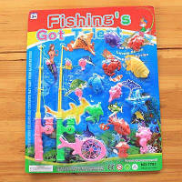 Морская рыба Ребенка Любимая рыбалка Игрушка с магнитом Цветной