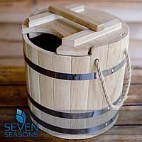 Запарник для веников дубовый Seven Seasons™, 15 литров