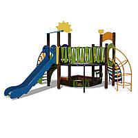 Детский игровой комплекс Ручеек-2 InterAtletika