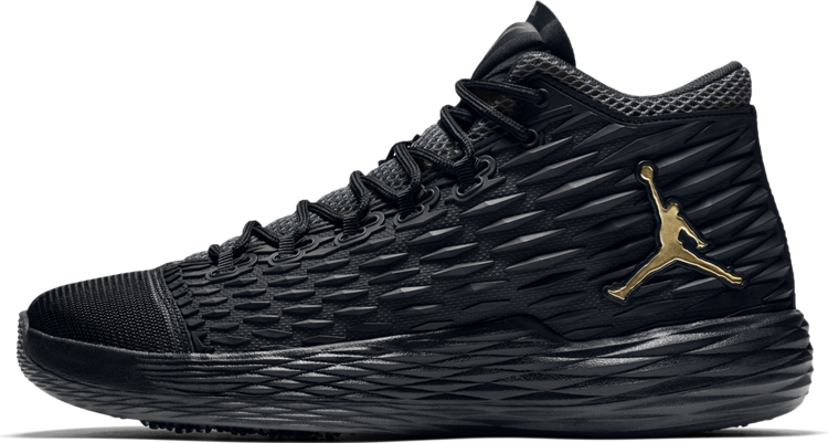 Баскетбольные кроссовки Nike Air Jordan Melo M13 (Найк Аир Джордан) черные