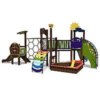 Детский игровой комплекс Ручеек-3 InterAtletika