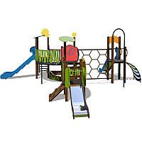 Детский игровой комплекс Ручеек-4 InterAtletika