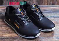 Мужские кожаные кроссовки Columbia Black 40,41,42,43,44,45р