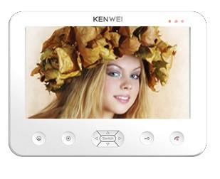 Цветной домофон Kenwei E706FC-W100 (WHITE)