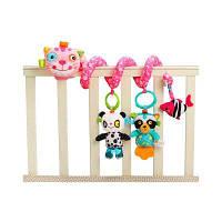 Розовый котенок-прекрасная игрушка для малышей с плюшевыми игрушками для детей Розовый