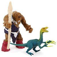 Дикий Человек Война Серп Дракон Пластмассовая Модельная Игрушка Цветной