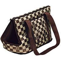 Сумка-переноска Trixie Chess для собак, 21х25х45 см