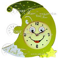 05-208 Часы настенные Месяц детские МДФ 33,5 * 4,5 * 32см