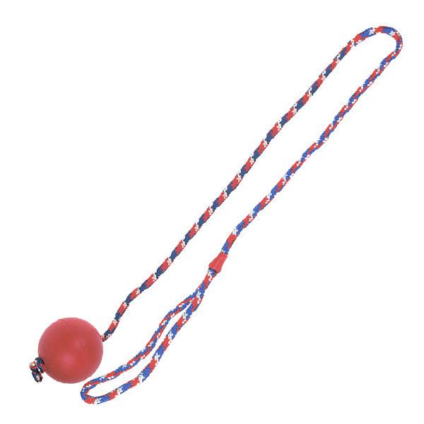 М'яч на мотузці Karlie-Flamingo Ball With Rope для собак, 6.3 см