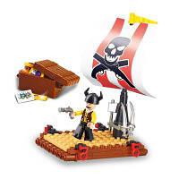 Sluban Building Blocks Обучающие детские игрушки Pirate Set 64PCS Коричневый