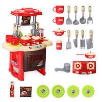 Дети играют Дом Кулинария Кухонный стол Инструмент Игрушки Столовые приборы Подарки Красный