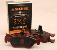 Тормозные колодки (задние с пластиной, Shäfer SB23901) MB Sprinter 96-06 ATE