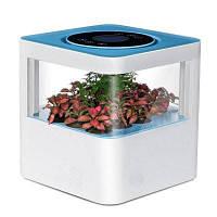 Tech-Forest Ароматический очиститель воздуха 8600 с фильтром HEPA, Углеродным фильтром и экстрактом растительного ароматического кристалла Синий