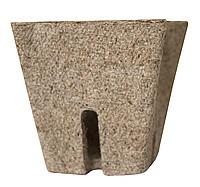 Торфяной горшок для рассады квадратный, 10 см (упаковка 10 шт)