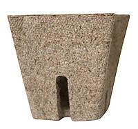 Торфяной горшок для рассады квадратный, 10 см (упаковка 10 шт), фото 1