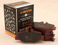 Тормозные колодки (задние с пластиной, Shäfer SB24008) MB Vito 639 03-