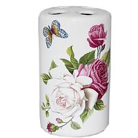 888-128 Подставка для зубных щеток 'Романтика' (6.5*11.5 см)