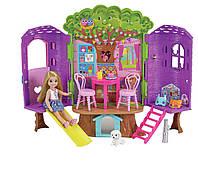 Игровой набор Кукла Барби Челси Дом на дереве Barbie Chelsea Doll and Clubhouse Treehouse
