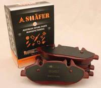 Тормозные колодки (передние с пластиной, Shäfer SB24007) MB Vito 639 03-