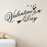 DSU С Днем Святого Валентина наклейка на стены Классический Festiva виниловые наклейки стены сердца Интерьер Windows Home Decor Дверь Art Mural Decal