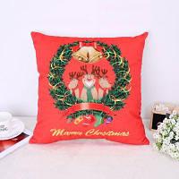 Новогодние подушки для рождественских оленей Красный
