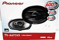 Pioneer TS-A6974S (600Вт) трехполосные, фото 1
