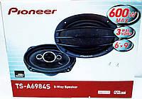 Pioneer TS-A6984S (600W) трехполосные, фото 1