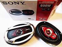 SONY XS-GTF6958 (600Вт) - трехполосные динамики (овалы), фото 1