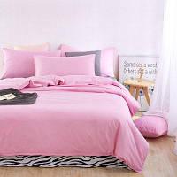 Алоэ Вера Хлопчатобумажная зебра и чистое одеяло для детского триплексного набора для детей Розовый