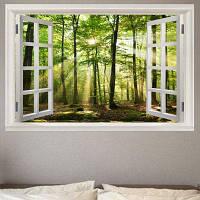 Сэндвич-левый вид окна Съемный стикер стены ширина 20 дюймов * длина 27.5 дюймов