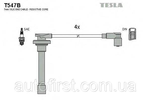 Tesla T547B Высоковольтные провода Honda