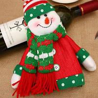 Рождественские украшения для дома Рождественские бутылки для вина Наборы рождественских кукол Бутылки для шампанского Наборы бутылок для вина Decorati