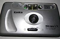 Фотоаппарат Б/У плёночный Konica. В коллекцию. +.