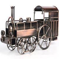 Старинные паровозы Модель Железные украшения размер:27 x 10 x 14см