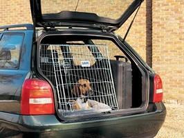 Клетка  в авто для собак Savic Dog Residence (Дог Резиденс) 76х54х62 см