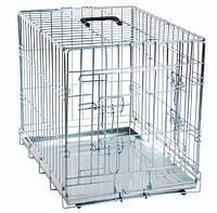 Клетка Karlie-Flamingo Wire Cage для собак двухдверная, 77х47х54 см