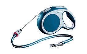 Рулетка Flexi Vario для собак трос M, 8 м/20 кг