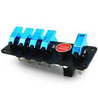 IZTOSS S2786-Z 12V Выключатель питания Чёрный и синий