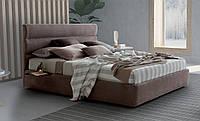 Современная двуспальная кровать SIR с мягким изголовьем фабрика LeComfort (Италия), фото 1