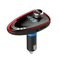 Беспроводной Блютуз-радиопередатчик адаптер MP3-плеер черный&красный