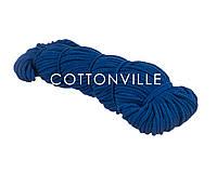 Хлопковый шнур синий (5-5,5 мм), фото 1