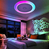 X816Y-48W-LY-YXAA Music Color Изменение потолочного освещения, Smart Bluetooth APP AC 220V Белый