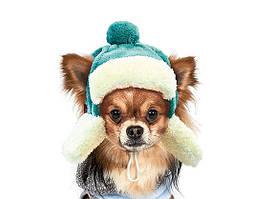 Шапка зимняя Pet Fashion Ушанка для собак M